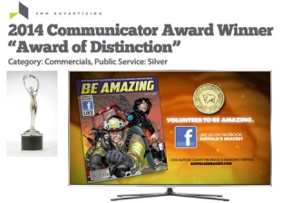 "SMM Wins Another Award for Suffolk County FRES Campaign: The Communicator Awards ""Award of Distinction"" (Silver)"