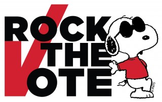 Rock the Vote with Peanuts and Charlie Brown
