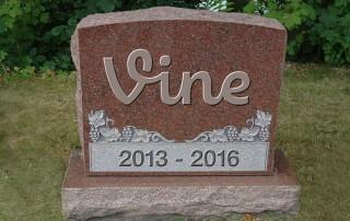 vine headstone