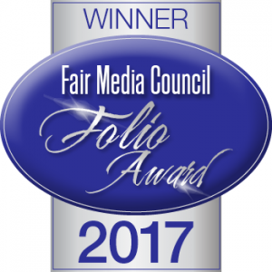 Fair Media Council Folio Award Winner 2017