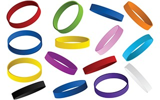 cause marketing and support a cause rubber bracelets