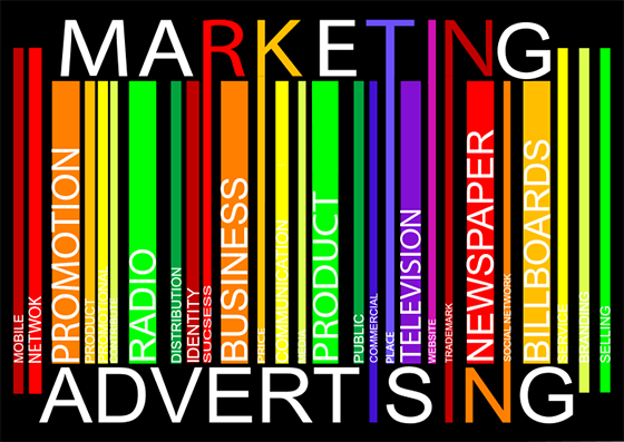 marketing and advertising - the four p's