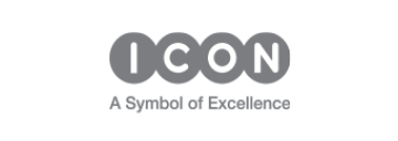 ICON A symbol of excellence logo