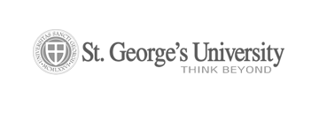 St. George's University Think Beyond logo