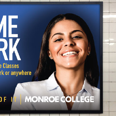 Monroe College portfolio icon