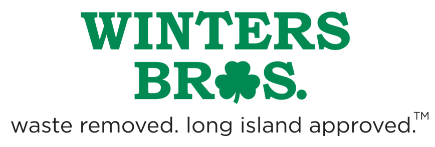 Winters Bros waste removed. long island approved. logo