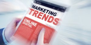 Digital Marketing Trends article on iPad