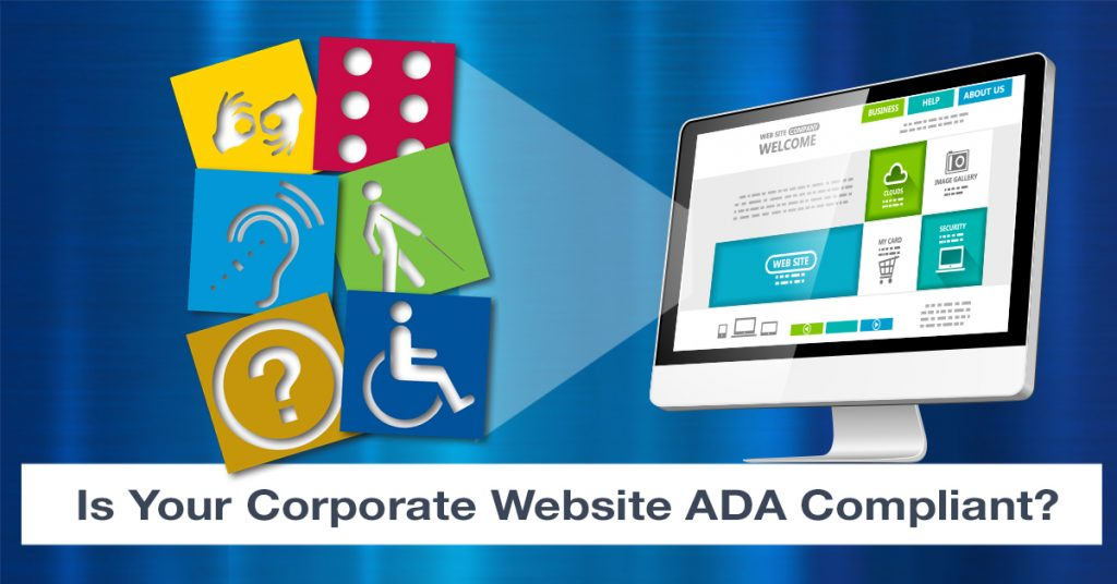Is your corporate website ADA compliant