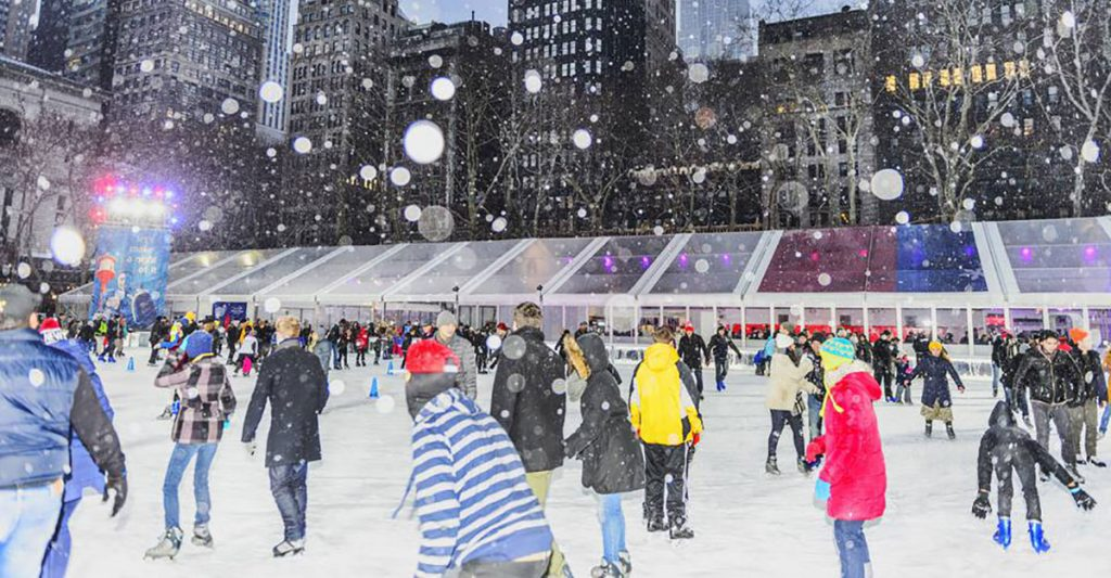bryant's park ice rink NYC