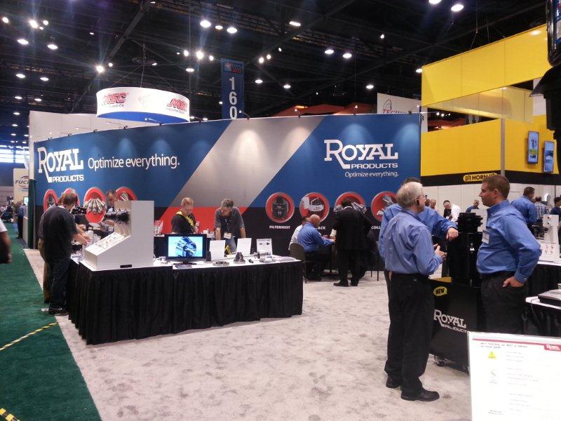Royal Products Tradeshow Display
