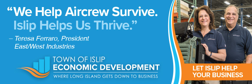 Town of Islip Economic Development digital ad banner mockup
