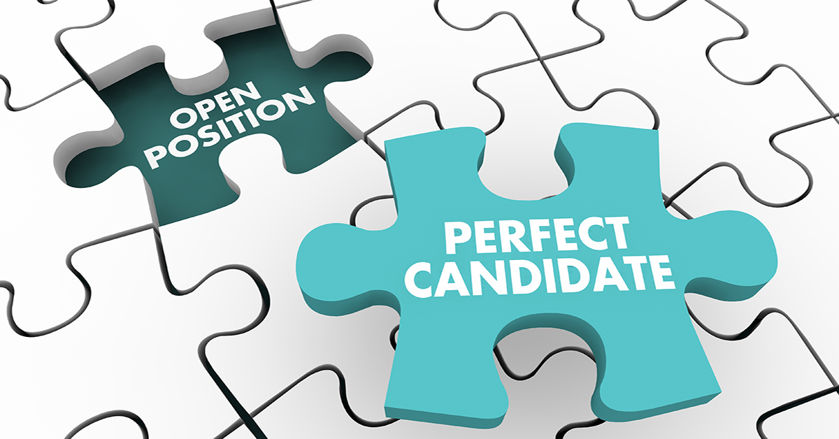Puzzle - fill open position with a perfect candidate
